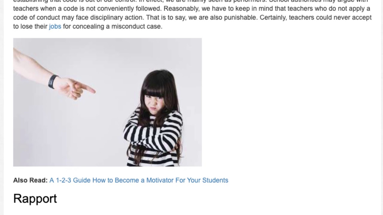 Punishment in the Classroom: Is it Correct or Not?   ITTT   TEFL Blog