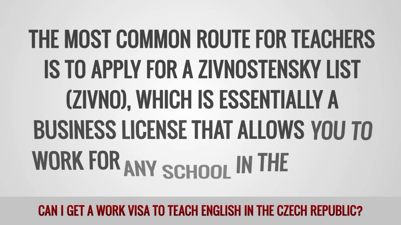 ITTT FAQs – Can I get a work visa to teach English in the Czech Republic?