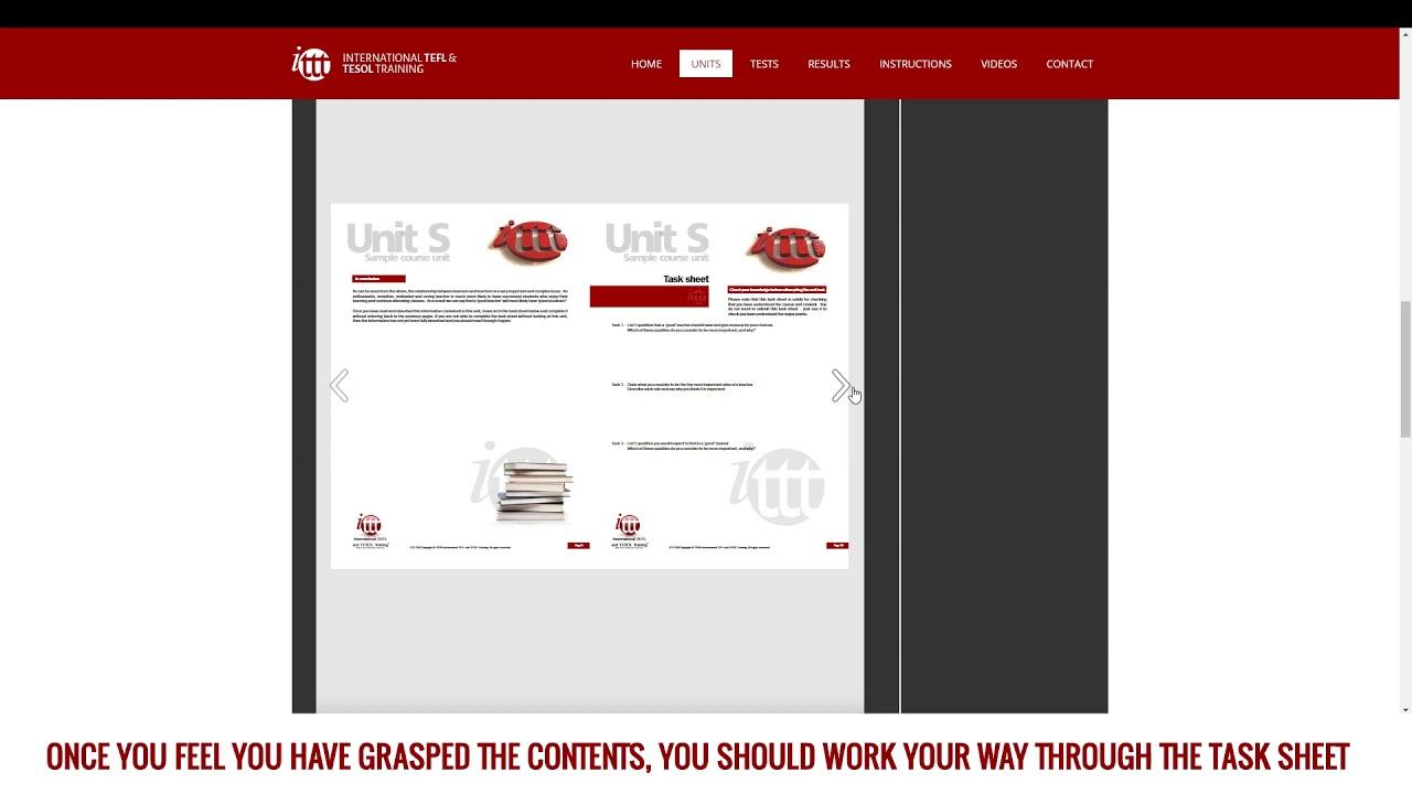 ITTT Course Instructions