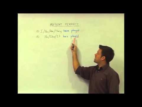English Grammar — Present Perfect — Structure — TESOL