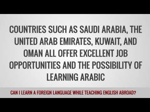ITTT FAQs – Can I learn a foreign language while teaching English abroad