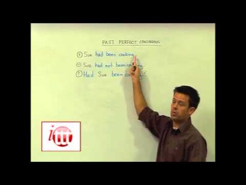 English Grammar – Past Perfect Continuous – Structure – TEFL Jobs