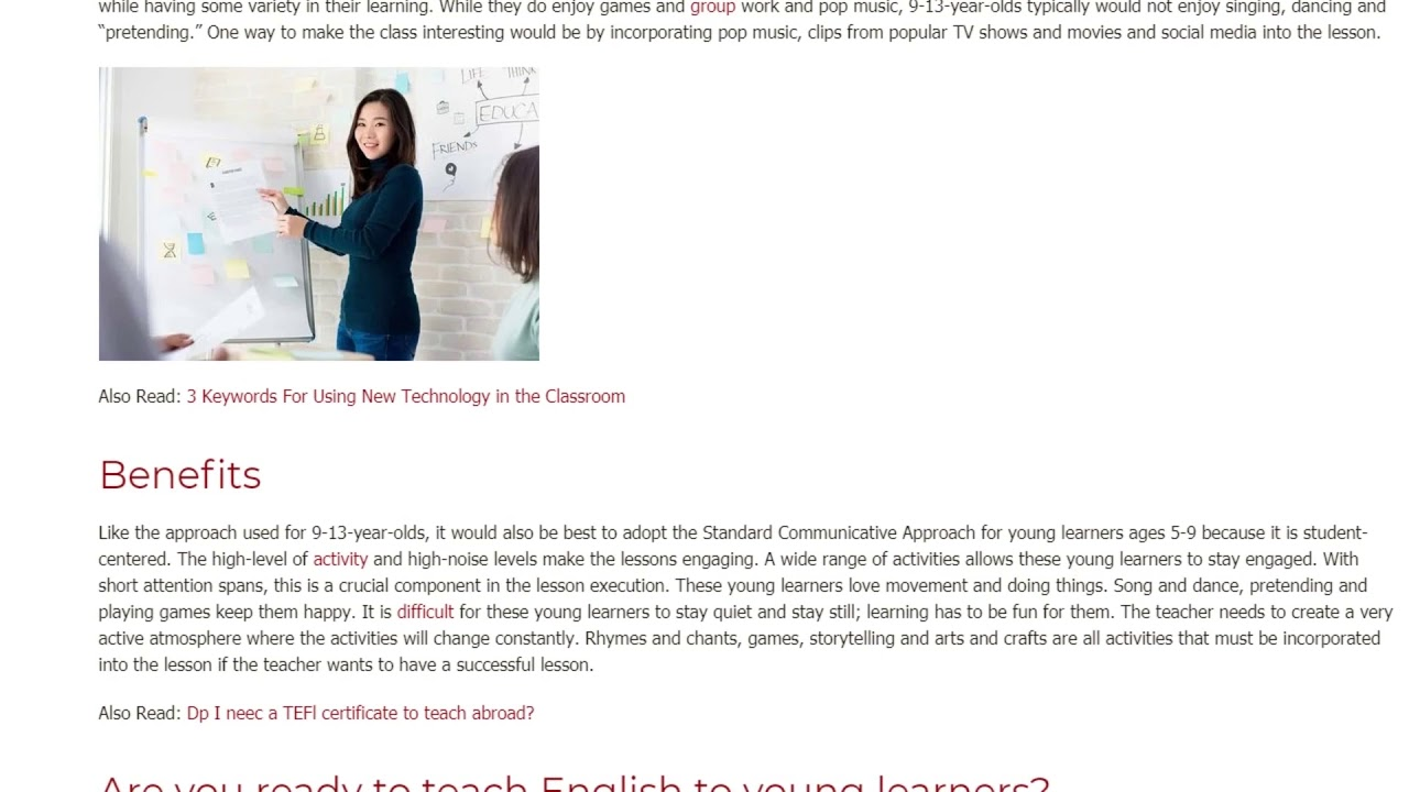 Supporting Outer Motivation of Younger Learners   ITTT TEFL BLOG