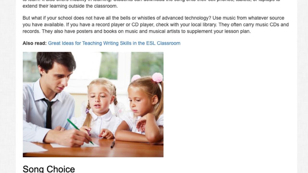 4 Tips on How to Teach English Using Music | ITTT TEFL BLOG