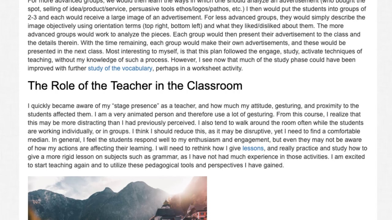 Alumni Report   What It's Like Teaching English in Austria | ITTT TEFL BLOG