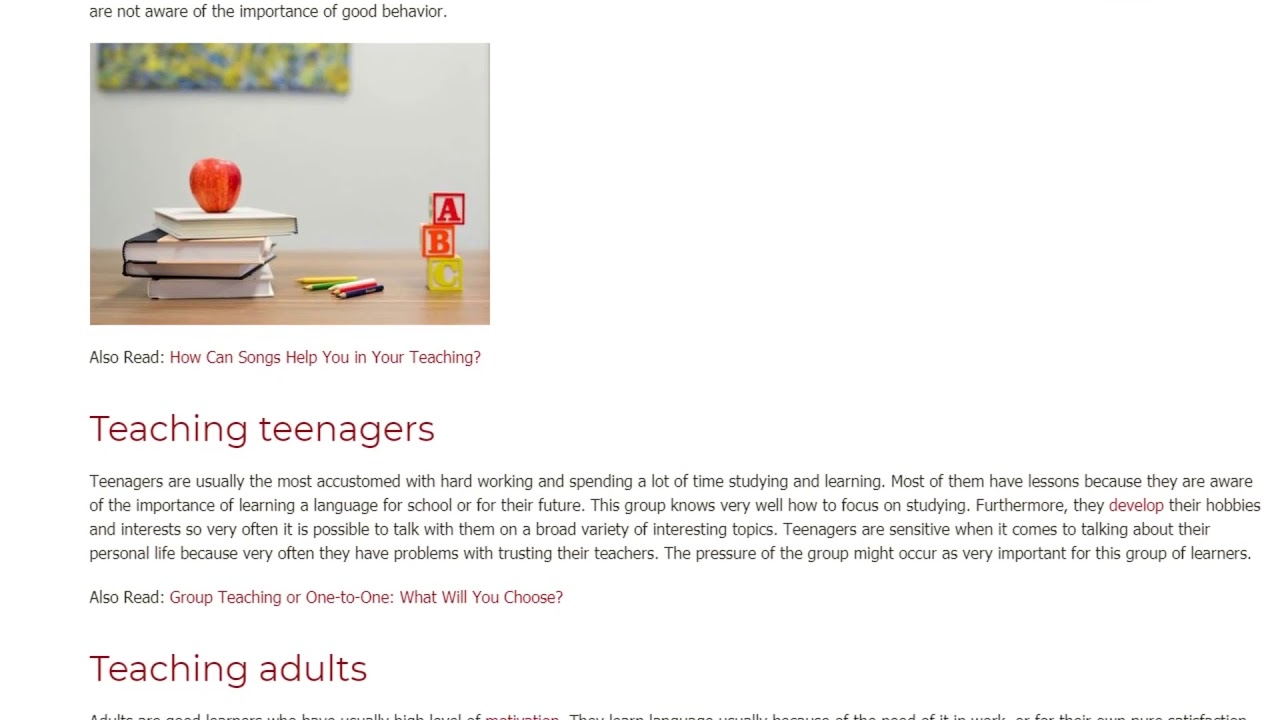 Who Is Easier to Be Taught a Child or an Adult   ITTT TEFL BLOG