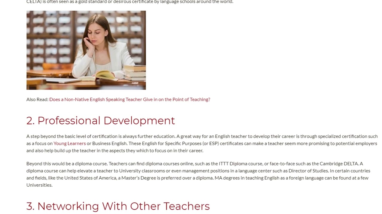 3 Key Ways to Build Your Teaching Career From Scratch | ITTT TEFL BLOG