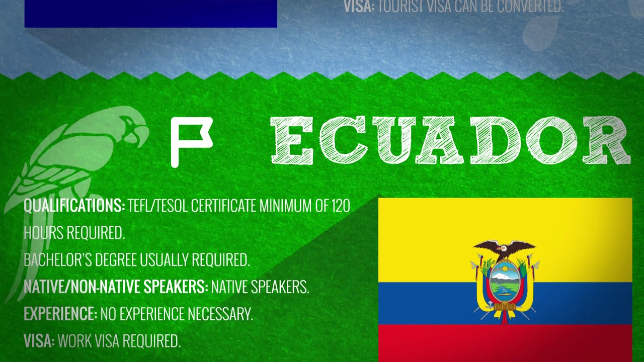 Requirements for English Teachers in Latin America | Teach & Live abroad!