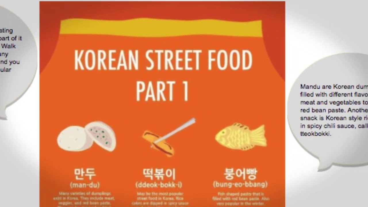 What are some popular Korean street food snacks?