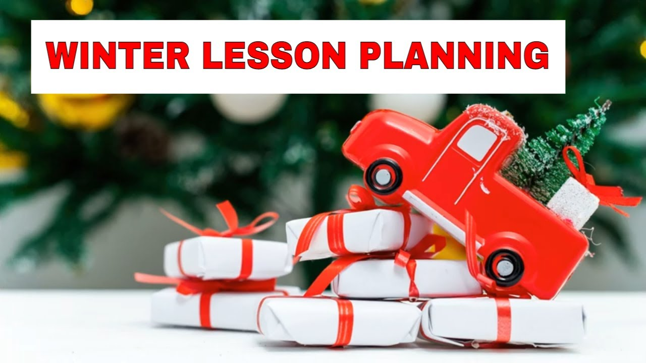 Lesson Planning: Winter English Activities – Powerpoint or Computer Games