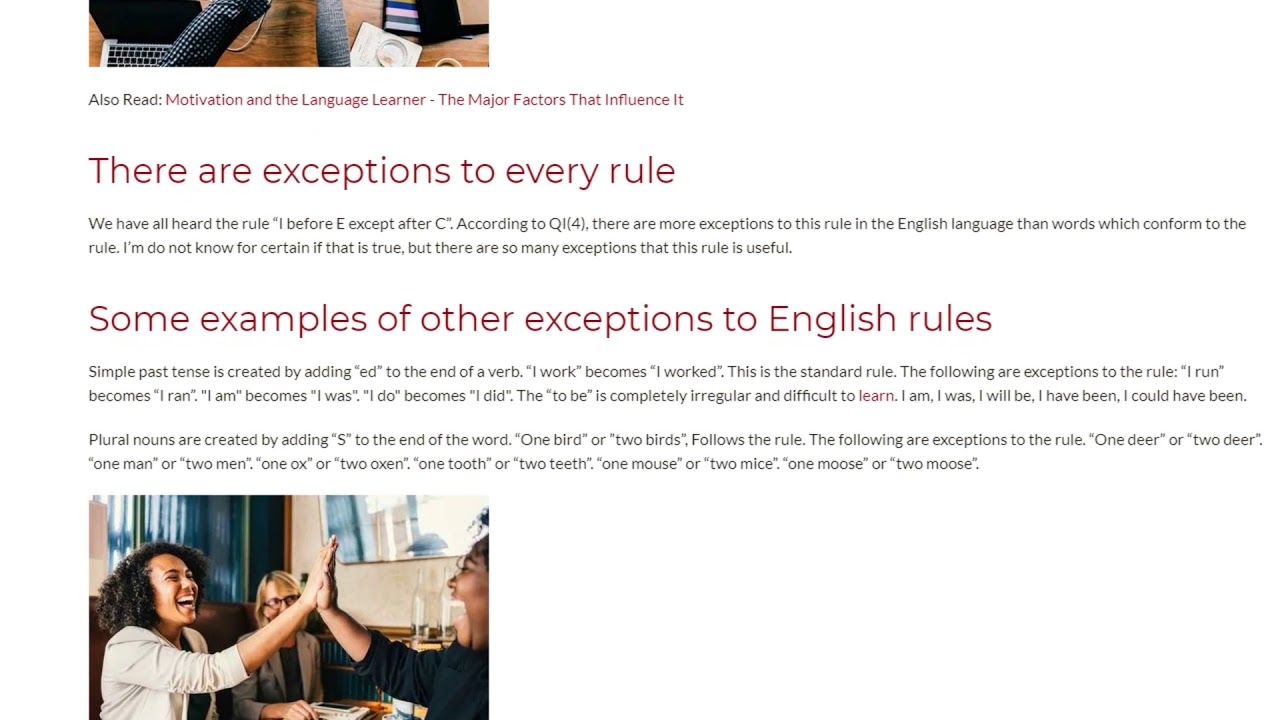 Peculiarities of The English Language | ITTT TEFL BLOG