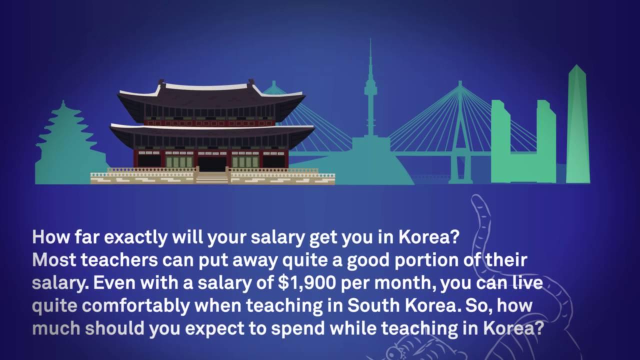 Why teach in Korea?