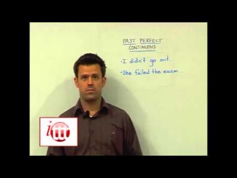 English Grammar – Past Perfect Continuous – Teaching Ideas – TESL