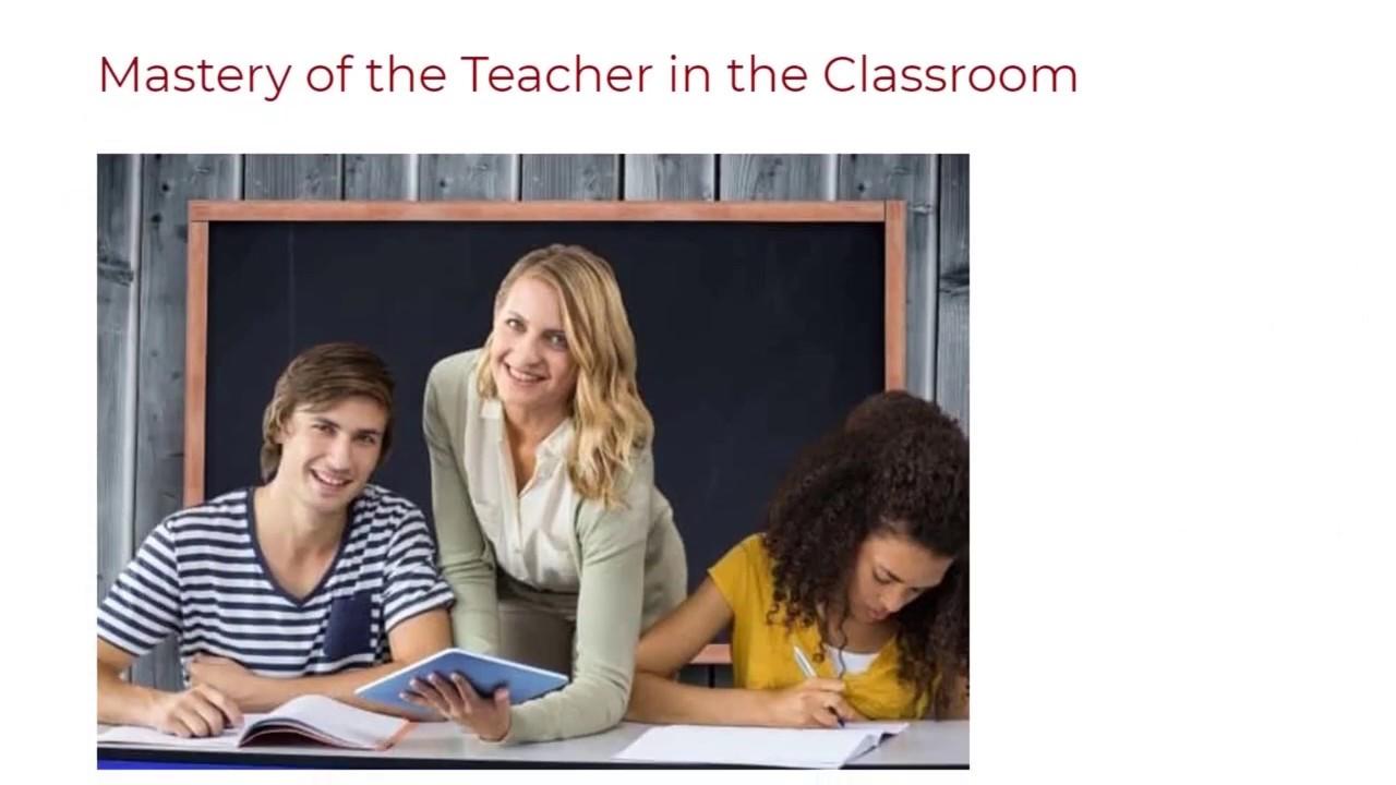 Mastery of the Teacher in the Classroom | ITTT TEFL BLOG