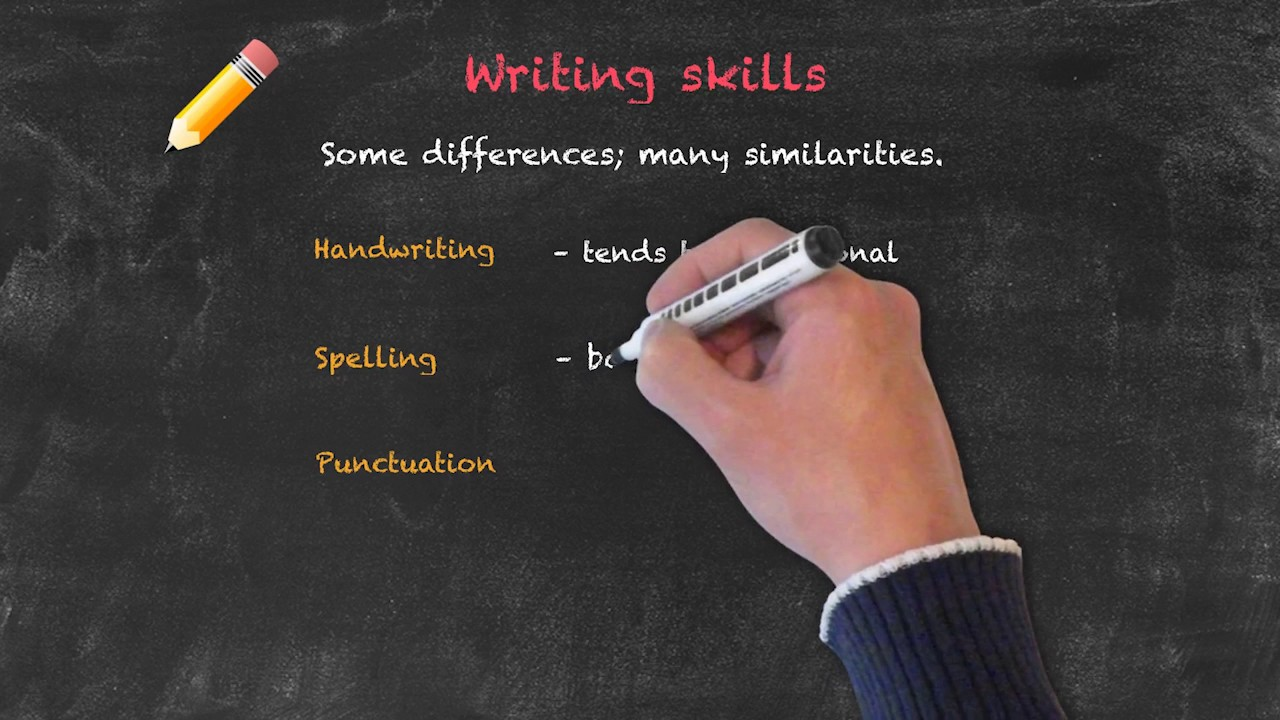 Productive and Receptive Skills in the EFL Classroom – Writing Skills
