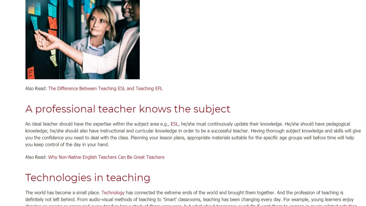 What Teaching Skills Are Required in the Classroom | ITTT TEFL BLOG