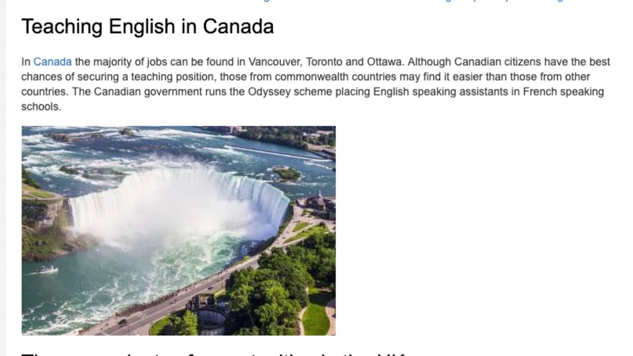 Top Tips for Teaching in English Speaking Countries   ITTT TEFL BLOG