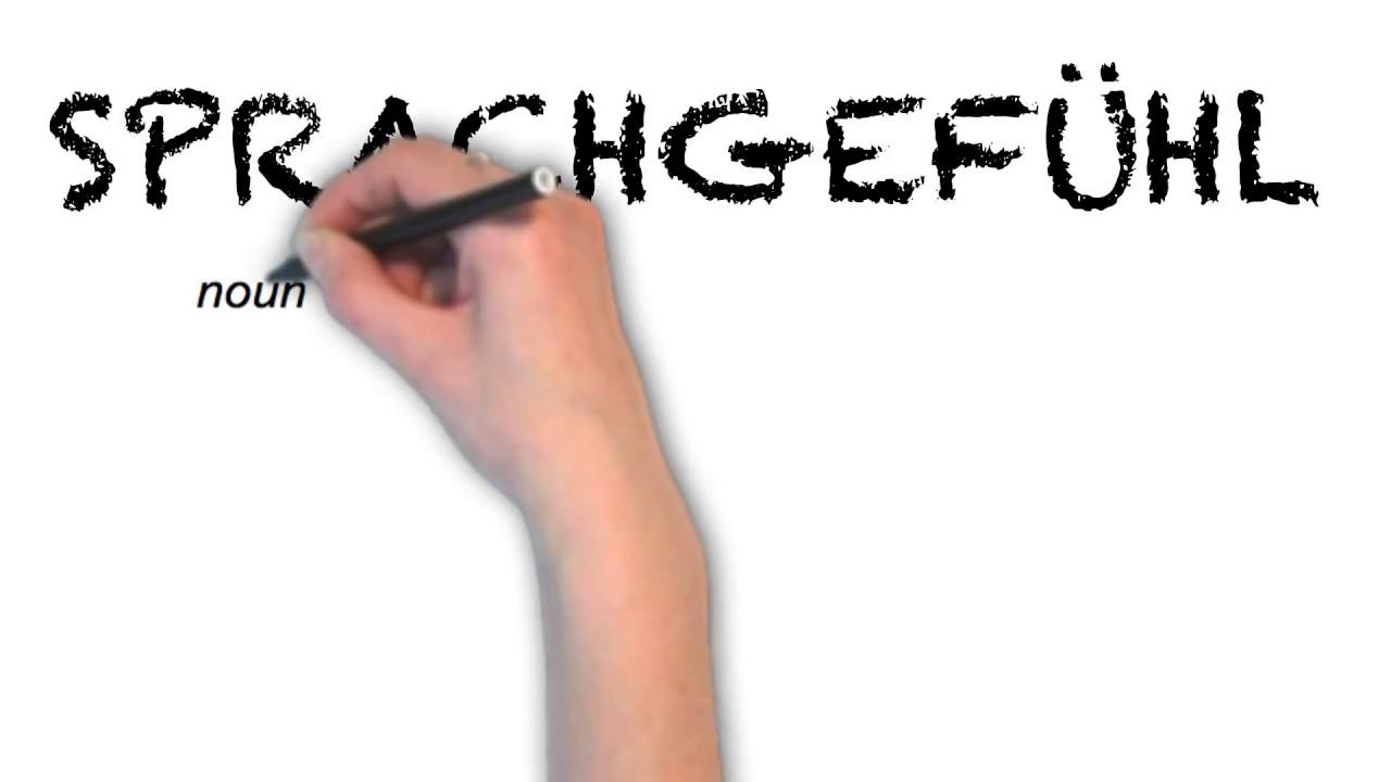 "Ask Linda How To Pronounce ""sprachgefühl"""