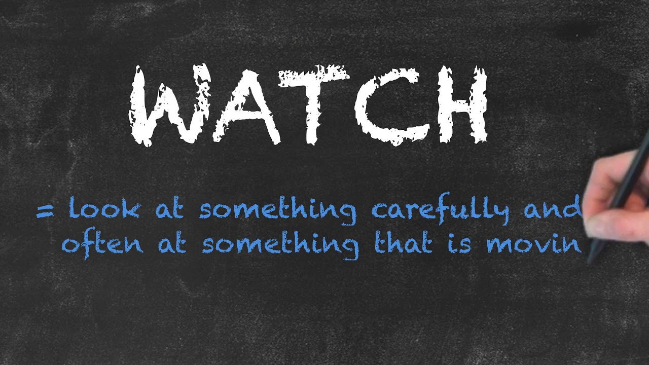 Look vs See vs Watch | Ask Linda! | English Grammar