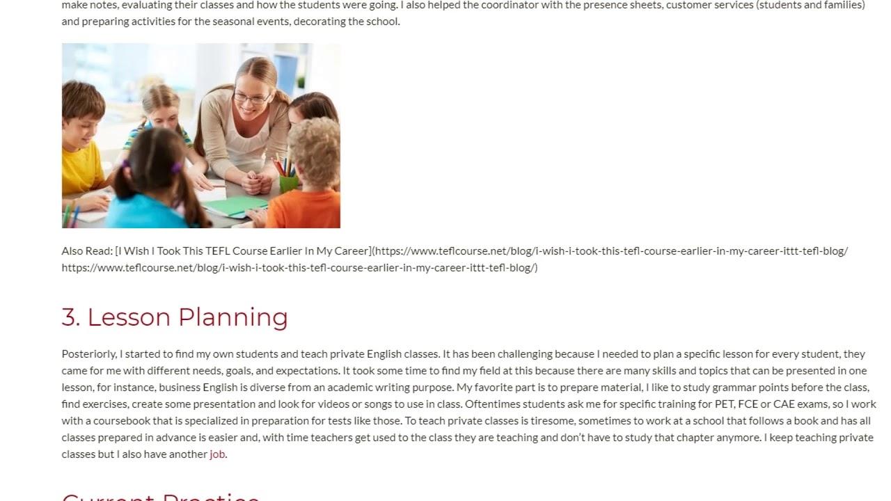 3 Experiences Possible in the ESL Teaching Career | ITTT TEFL BLOG