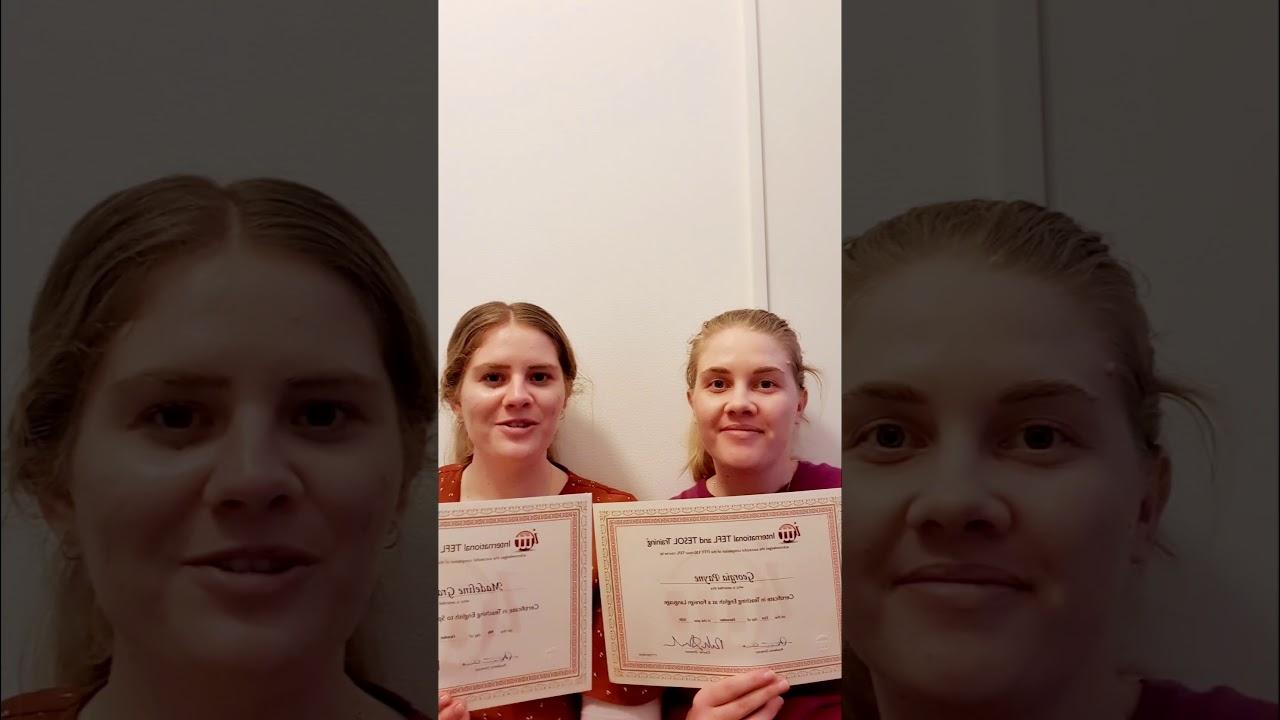 TESOL TEFL Reviews – Video Testimonial – Georgia & Maddy