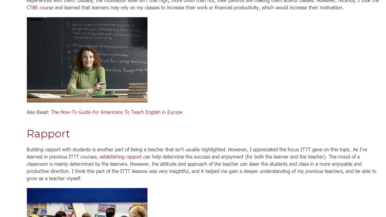 Being a Teacher is More Than Just Teaching | ITTT TEFL BLOG