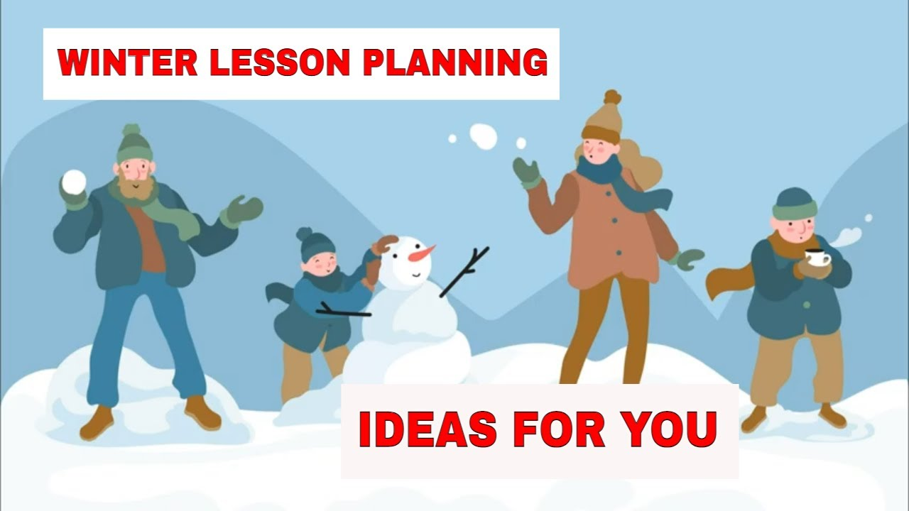 Lesson Planning: Board Games Activities for Teaching English for Winter