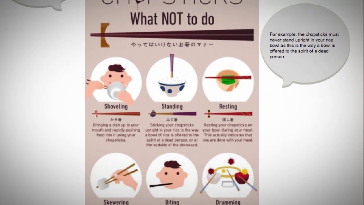 How to use chopsticks in Japan? Chopstick Etiquette in Japan