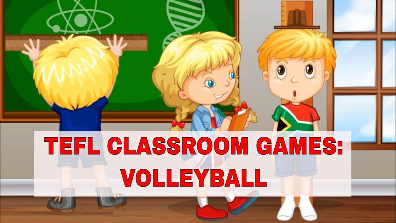 Fun ESL Activities: VOLLEYBALL   ITTT   TEFL Blog