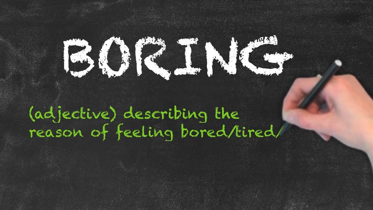 Bored vs Boring   Ask Linda!   English Grammar
