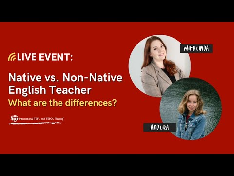 Live Session December 4, 2020: Native English Teacher vs. Non-Native English Teacher