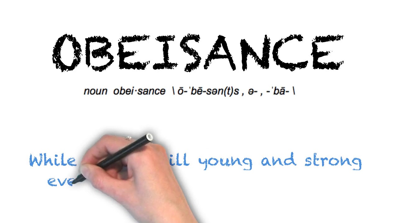 How To Pronounce 'OBEISANCE' | Ask Linda! | Pronunciation