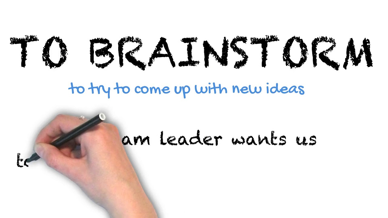 Brainstorm | Ask Linda! | Idioms