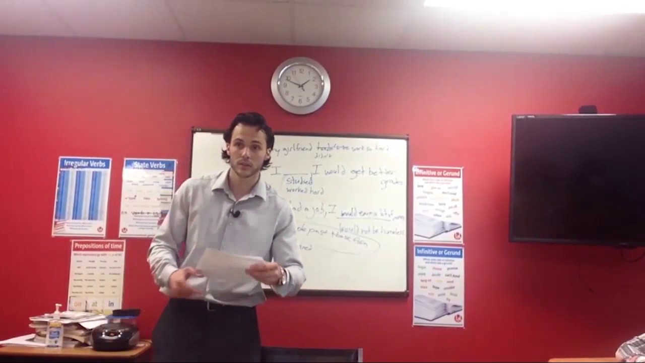 OTP English Lesson – Richard – Second Conditional Board Game