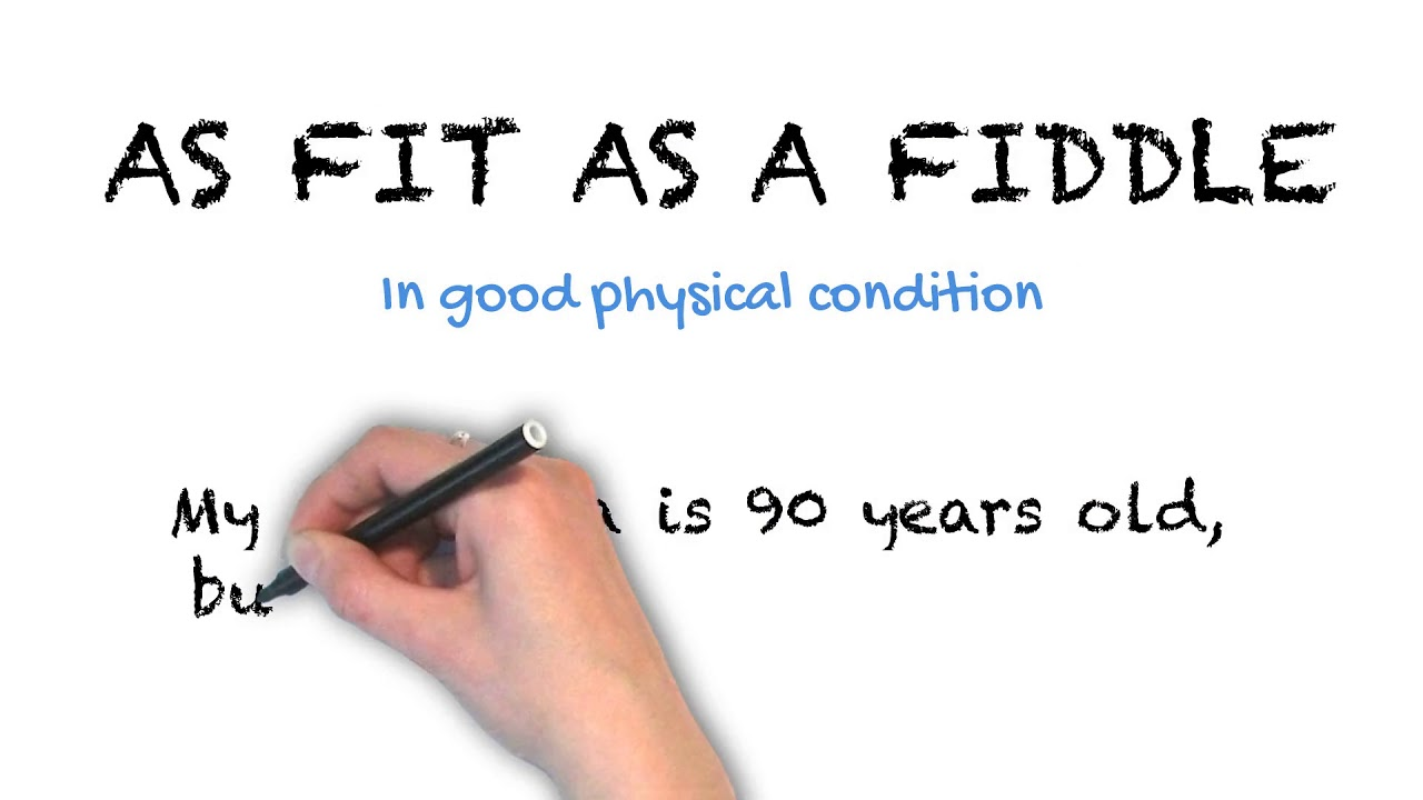 As Fit as a Fiddle | Ask Linda! | Idioms