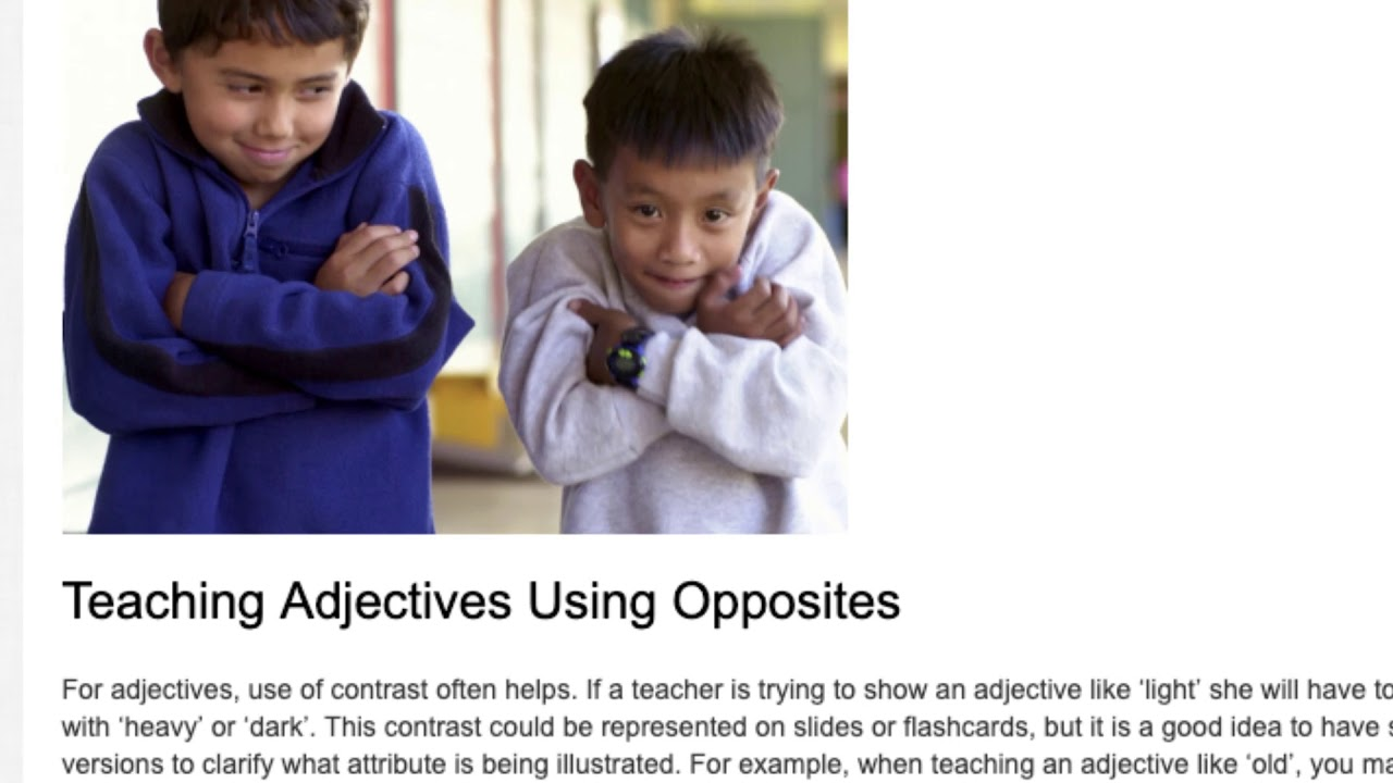 4 Super Easy Tips for Teaching Vocabulary to Young Learners | ITTT TEFL BLOG
