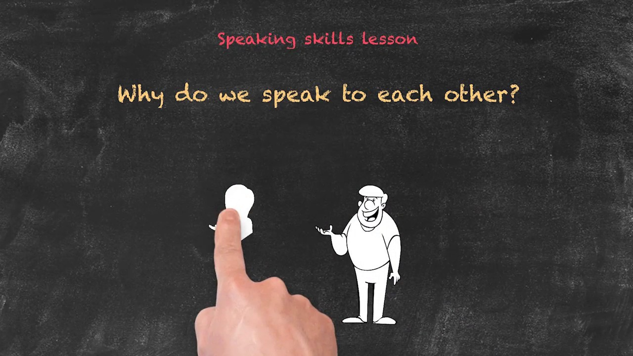 Productive and Receptive Skills in the EFL Classroom – Why Do We Speak?