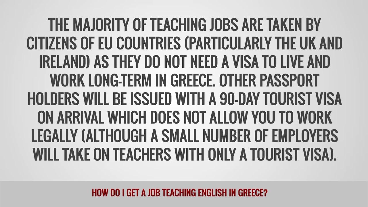 ITTT FAQs – How do I get a job teaching English in Greece