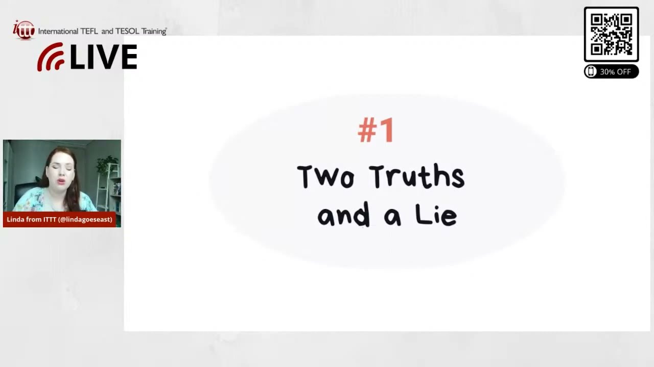 Two Truths and a Lie   The Best EFL Ice Breaker Games