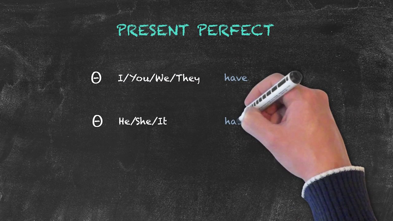 Overview of All English Tenses – Present Tenses – Present Perfect – Spelling Patterns
