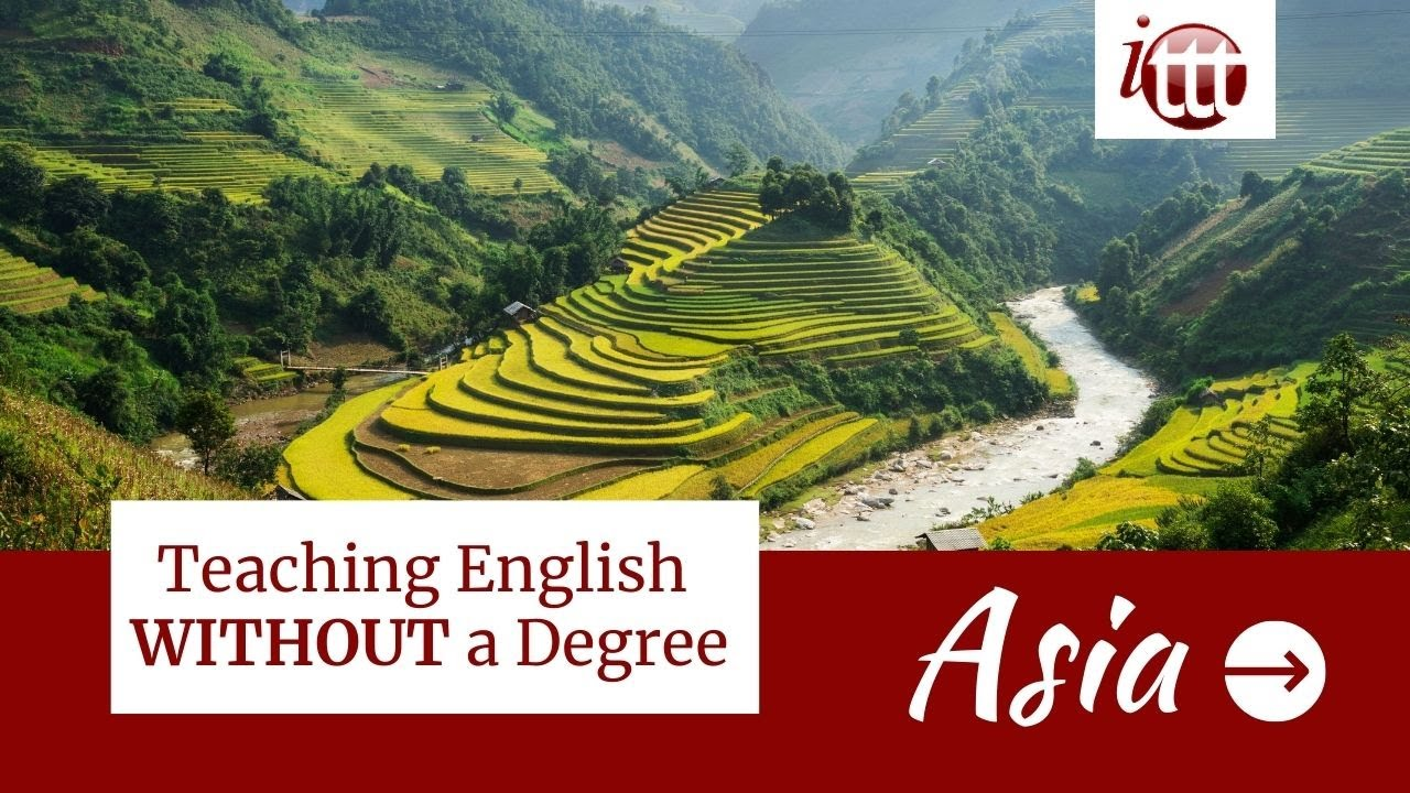 Teaching English in Asia Without a Degree