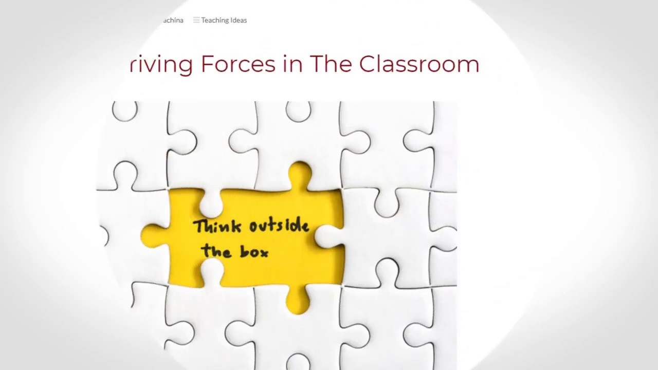 Main Driving Forces in The Classroom | ITTT TEFL BLOG