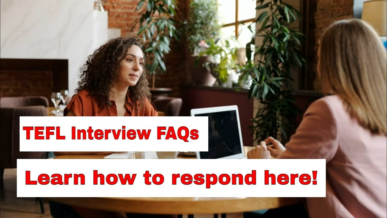 The Most Asked Question in a TEFL Interview – How do you maintain discipline?
