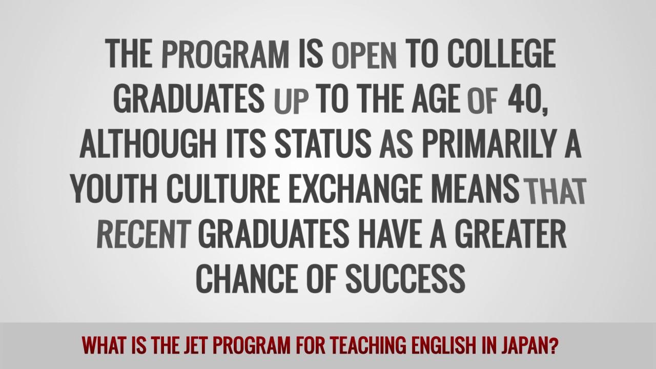 ITTT FAQs – What is the JET Program for teaching English in Japan?