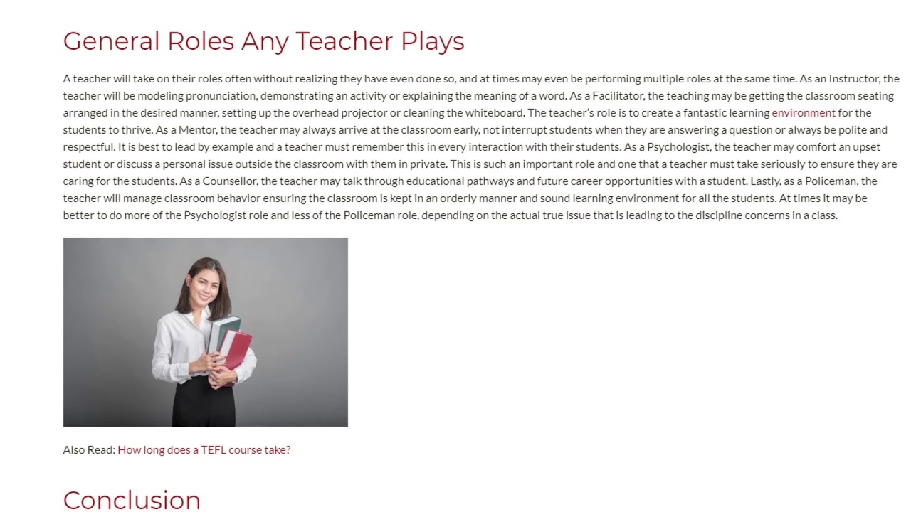 Classroom is a Stage and Teacher is an Actor | ITTT TEFL BLOG