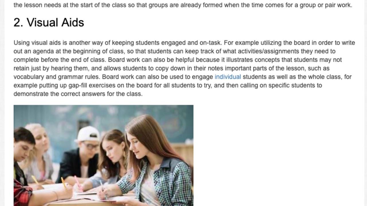 3 Tips on Managing a Large Class | ITTT | TEFL Blog