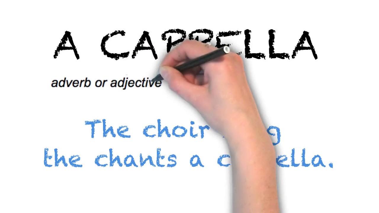 How To Pronounce 'A CAPPELLA'   Ask Linda!   Pronunciation