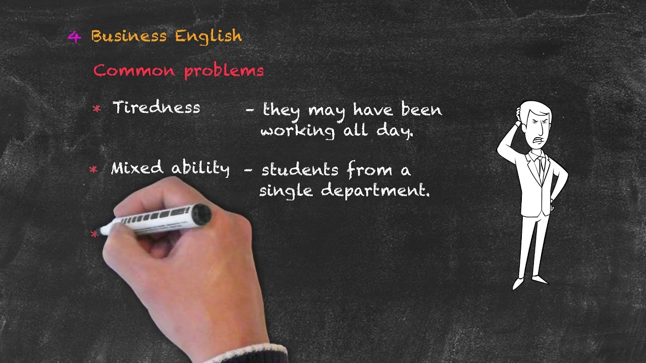 Teaching Special Groups in ESL – Problems with Business English Classes