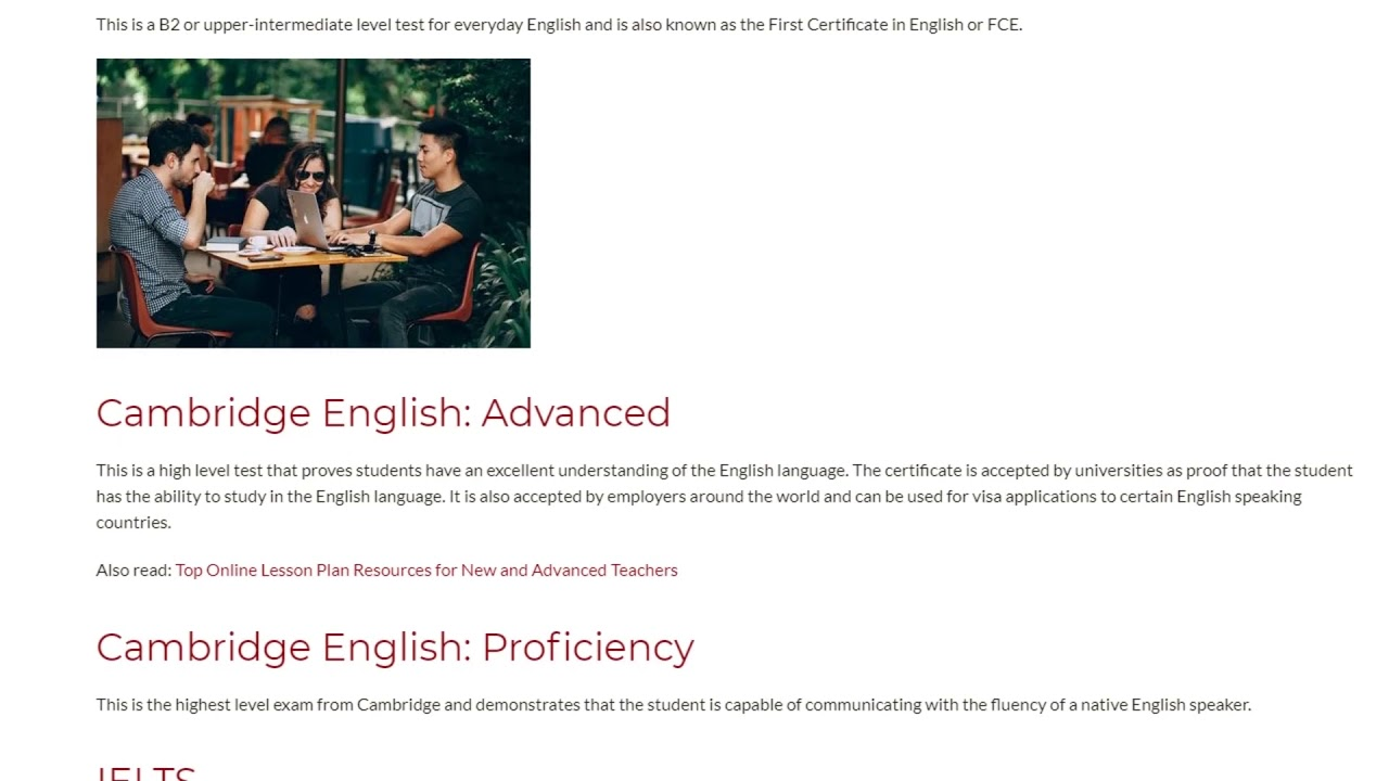 11 Cambridge English Exams You Need to Know About Right Now!   ITTT TEFL BLOG