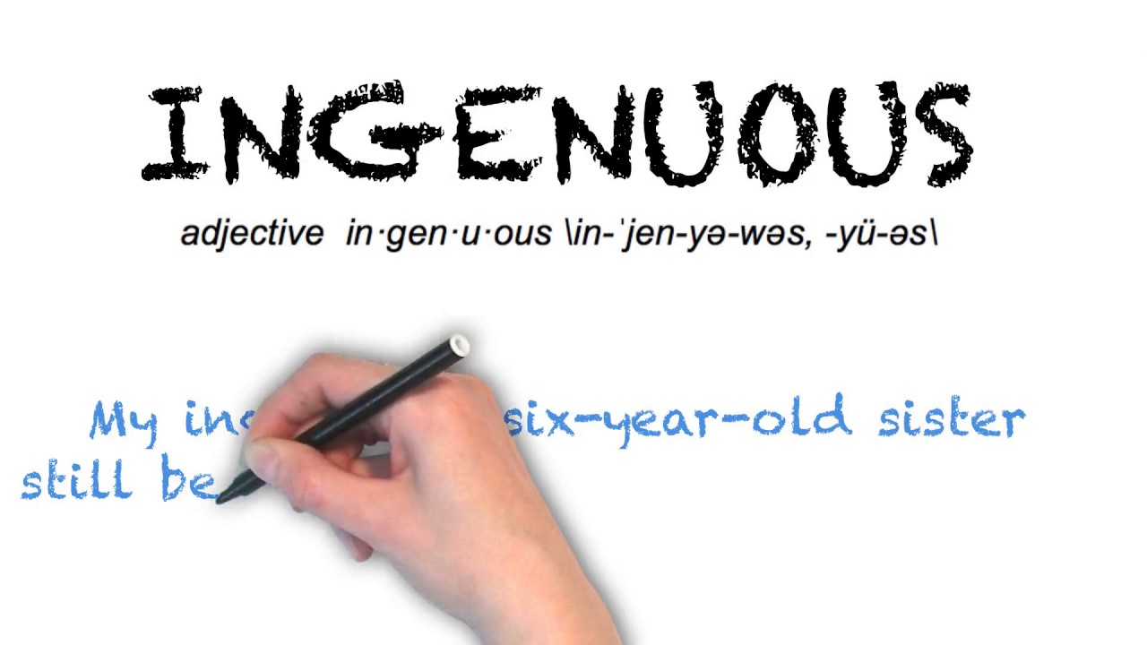 "Ask Linda How To Pronounce ""ingenuous"""